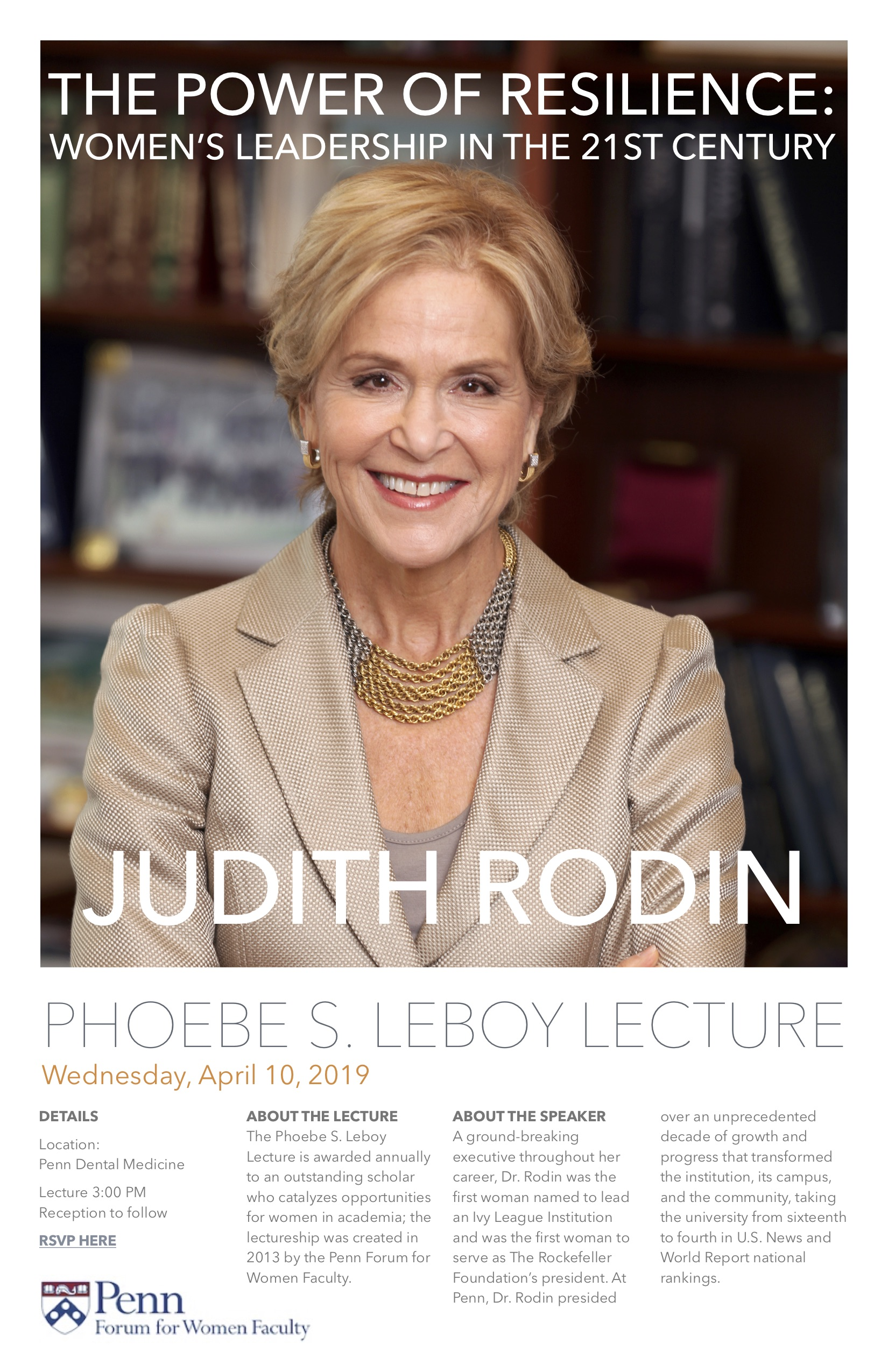 Leboy Lecture - Rodin 2019