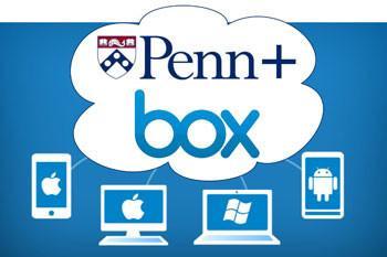 Penn + Box logo
